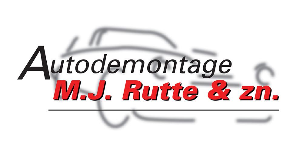 Autodemontage Rutte logo
