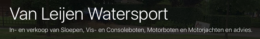 Van Leijen Watersport logo
